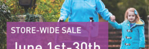 Store wide sale for mobile scooters and electric wheelchairs ad
